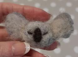 Felted koala