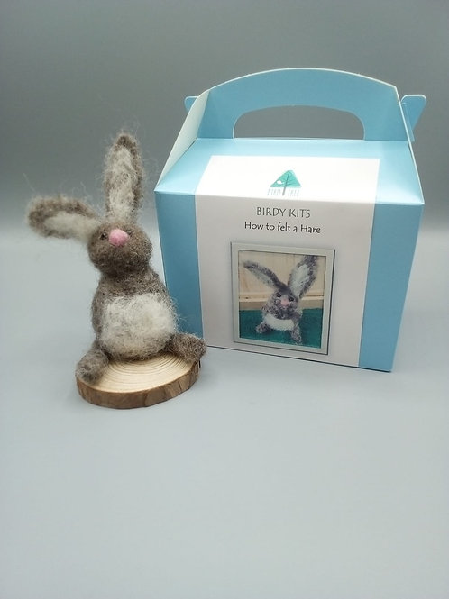 Hare felting kit