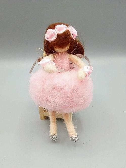 Felted ballerina