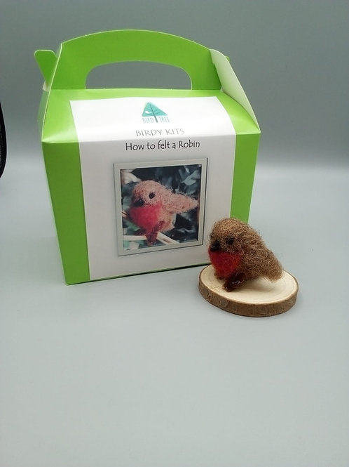 Robin felting kit