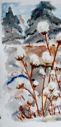 Simard Jocelyne-Boules de neige 10''X5''