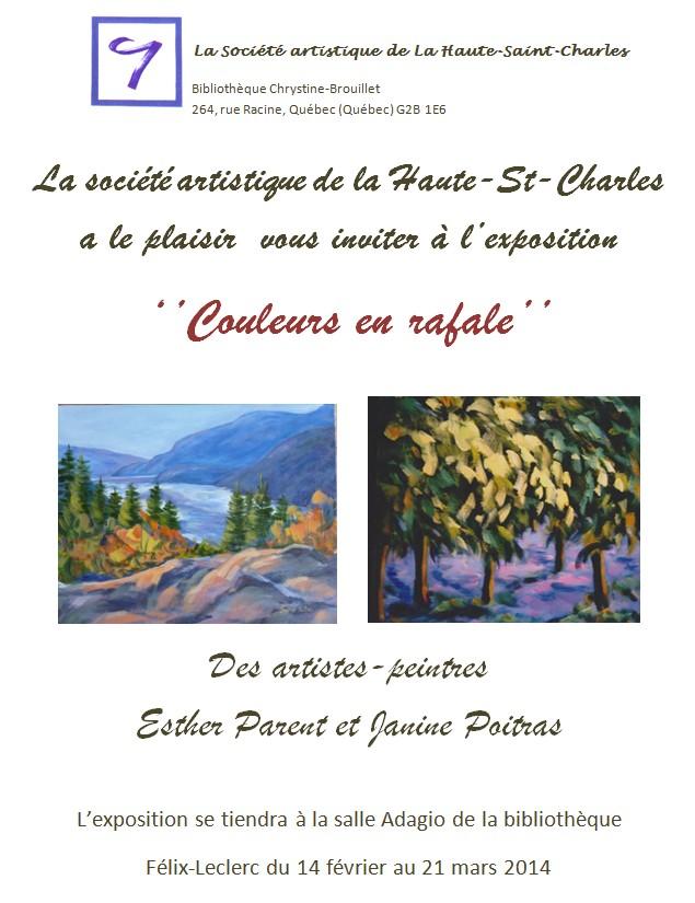 2014-02 Janine Poitras et Esther Parent