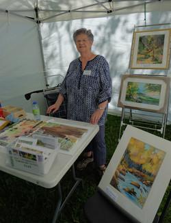Nicole Fraser, aquarelliste