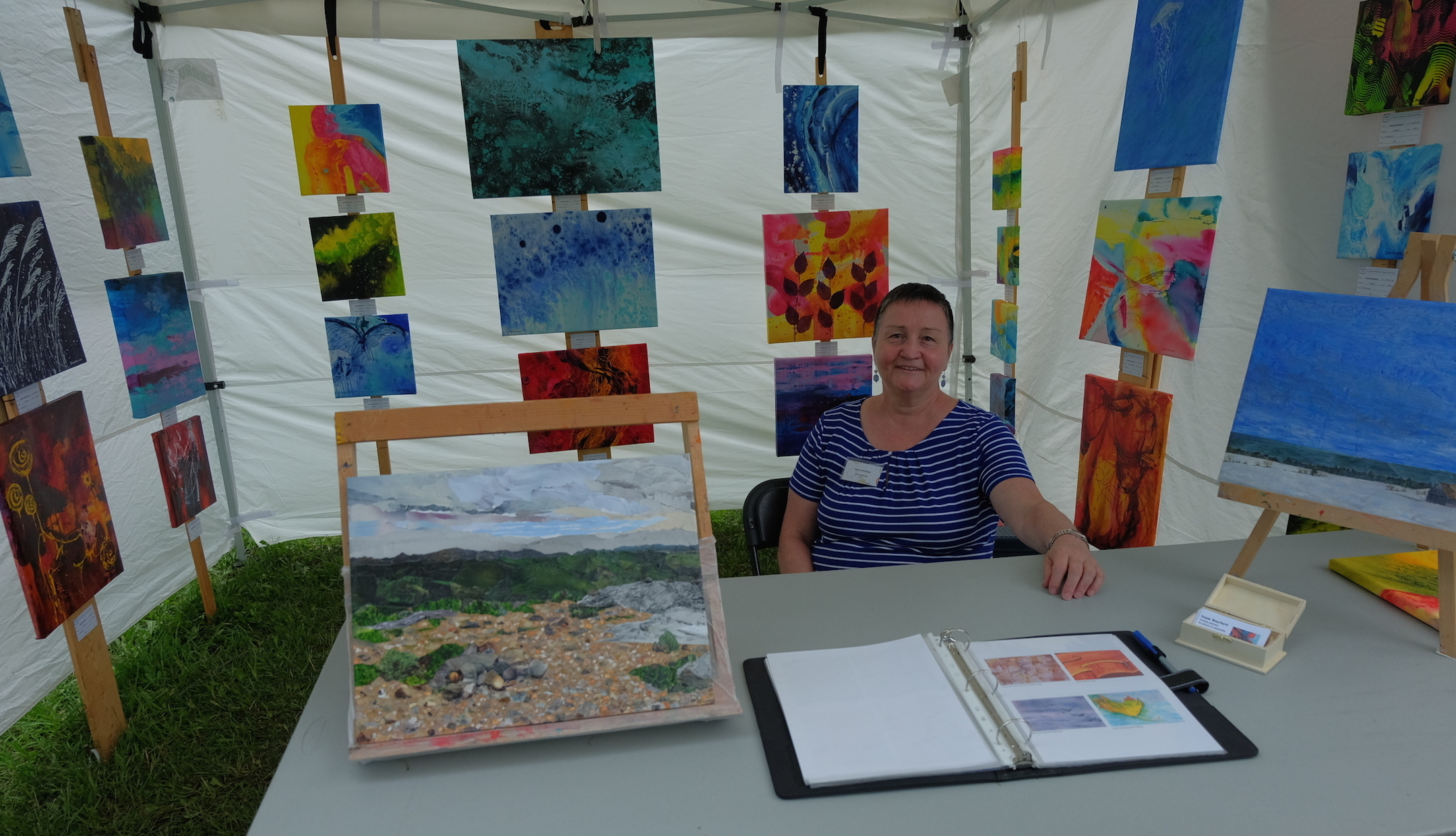 Diane Bouchard, artiste SAHSC