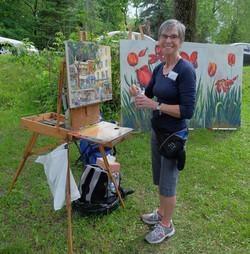 Monique Pézolet, artiste SAHSC