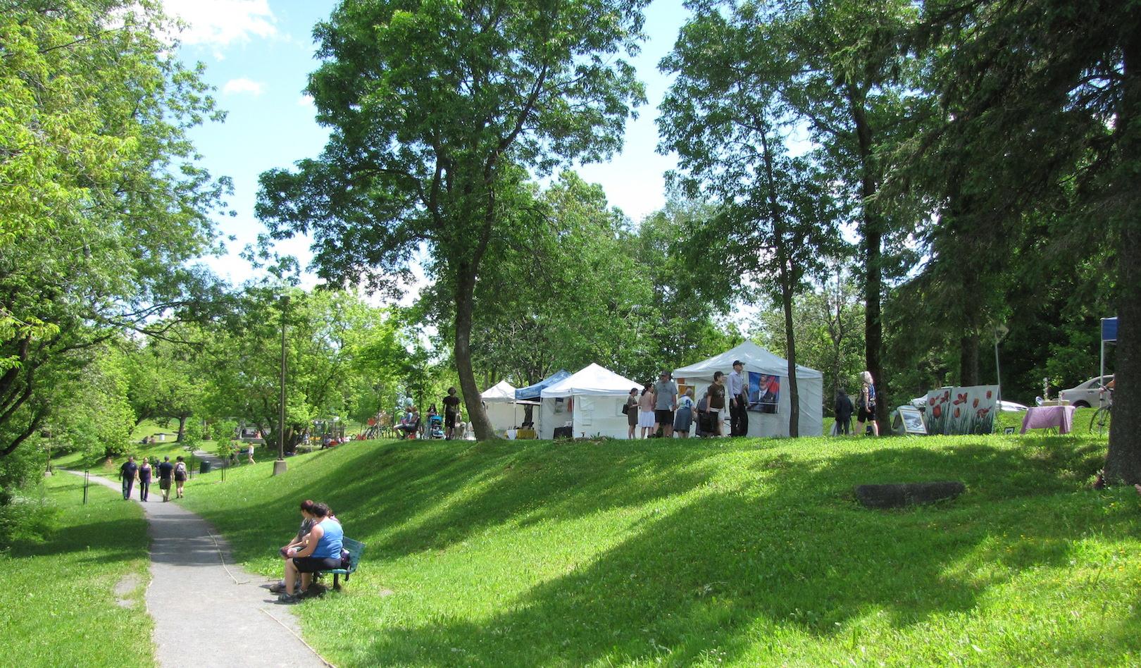 Fête champêtre au Parc