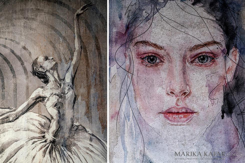 Marika Kafar. Subtelne tapety nadające wnętrzom charkteru.