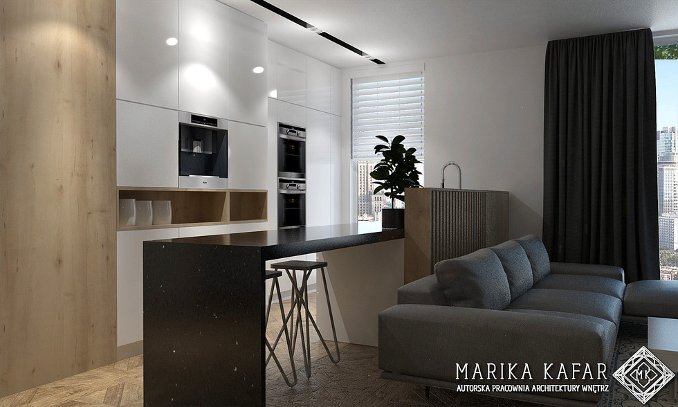 Marika Kafar Autorska Pracownia Architektury Wnętrz Nowoczesna Łazienka