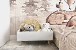 Marika Kafar. Przytulny pokój dla dzieci.