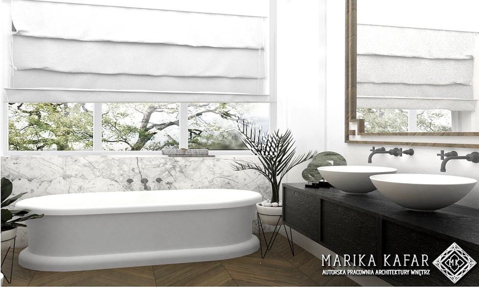 MARIKA KAFAR - łazienka INSPIRACJE