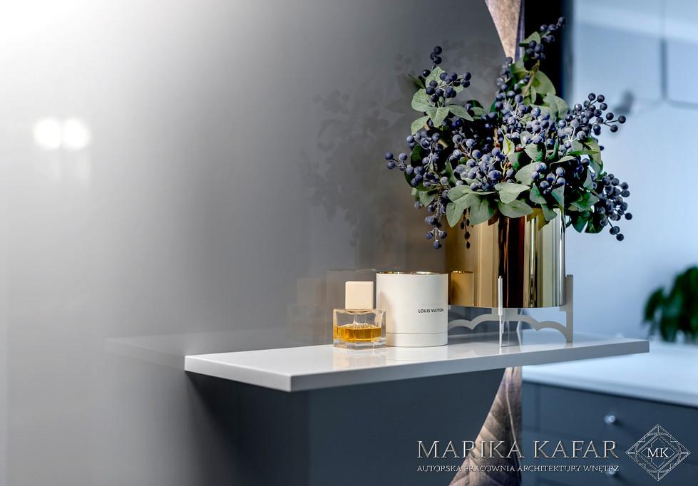 Marika Kafar. Wnętrze o egzotycznym charakterze.