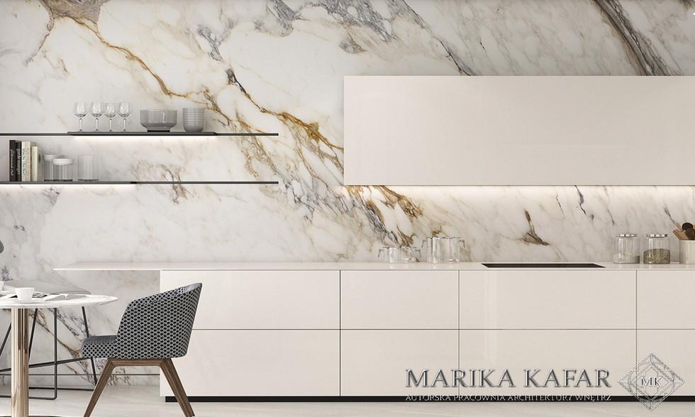 Marika Kafar. Projekt nowoczesnej kuchni.