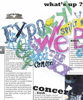 Keith Magazine présente l'Art de Lettres à ses débuts...