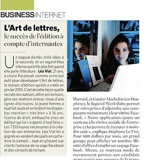 L'Art de Lettres, le succès de l'édition à compte d'internaute