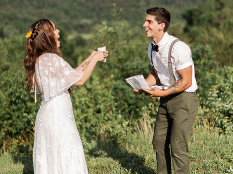 My Foolproof Guide to Writing Vows