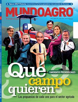 """Revista """"MUNDO AGRO"""" (Chile)"""