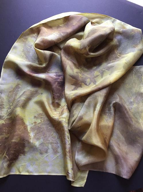 369: Dye with Turmeric & Print Botanical
