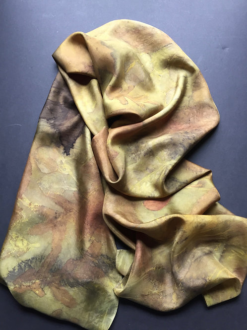 375: Dye Turmeric & Print Botanical