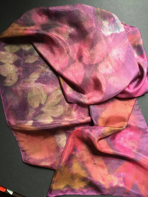 362: Dye with Cochineal & Indigo  & Print Botanical