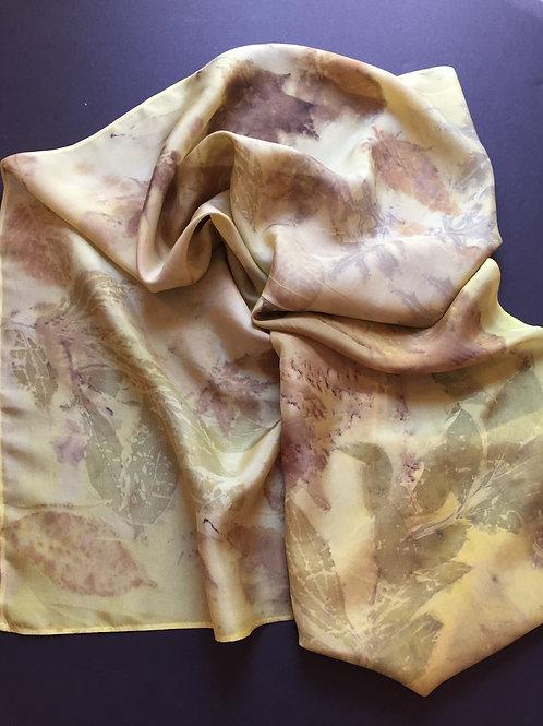370: Dye with Turmeric & Print Botanical