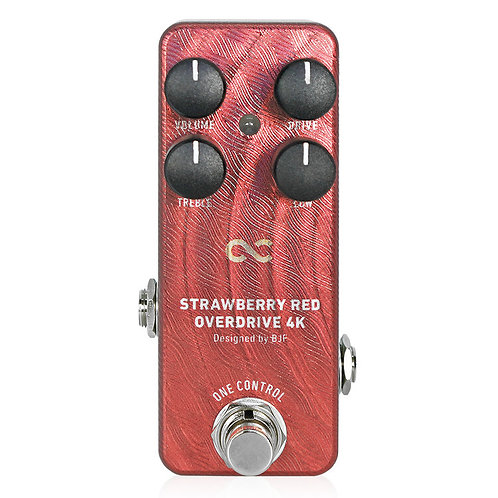 One Control Strawberry Red Overdrive 4K