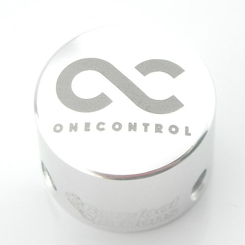 One Control barefoot button (mini tallboy V1 silver)
