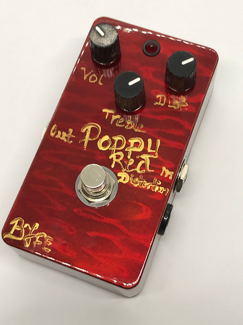 BJFe Poppy Red Distortion