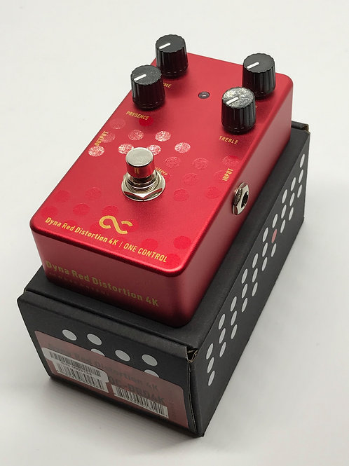 DEMO One Control Dyna Red Distortion 4K