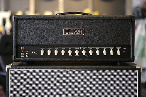 Olsson BJF100 head black tolex