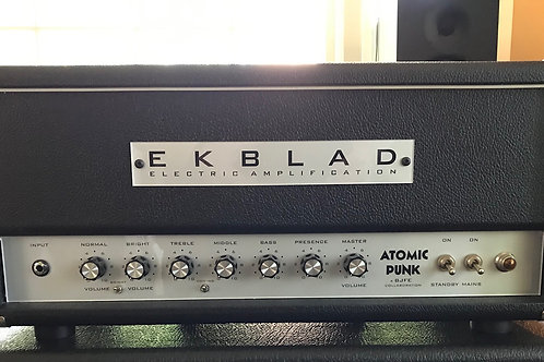 Ekblad BJFe Atomic Punk 6V6 20W Head