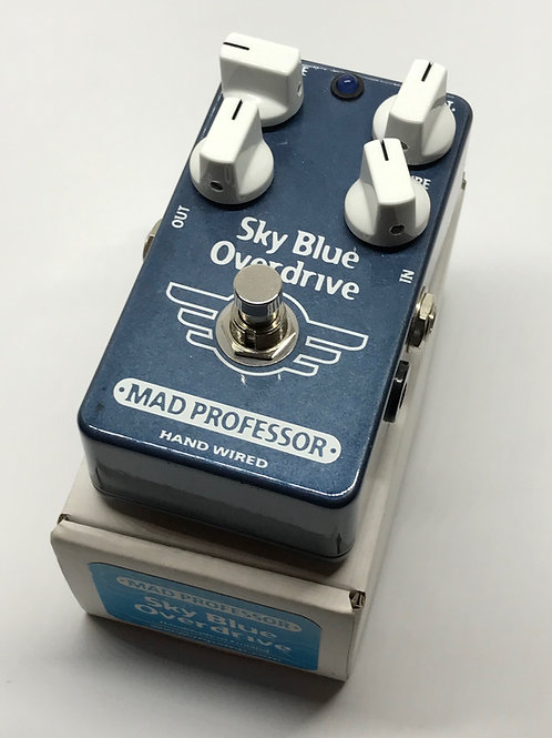 used Mad Professor Sky Blue Overdrive hand wired