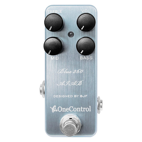One Control Blue 360 Bass Preamp