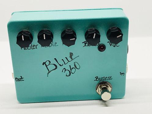 BJFe Blue 360 Bass Preamp