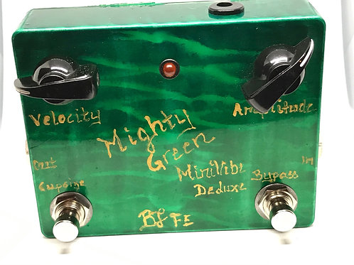 BJFe Mighty Green MiniVibe Deluxe