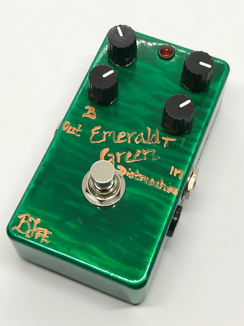 BJFe Emerald Green Distortion Machine 4K