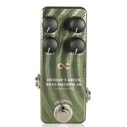 One Control Hooker's Green Bass Machine 4K