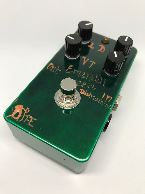 used BJFe Emerald Green Distortion Machine 4 knob #261