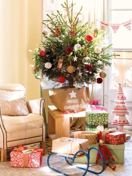 6 Ideas de decoración navideña para espacios pequeños | 6 Christmas décor ideas for small spaces