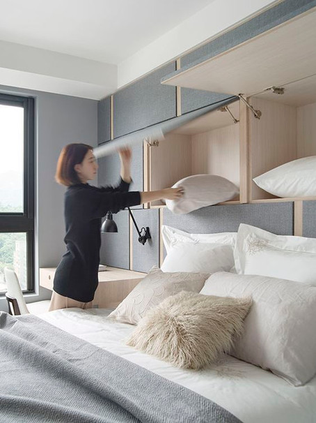 ¿Recamara pequeña? 5 tips para sacarle provecho   Small bedroom? 5 tips to get the most out of it