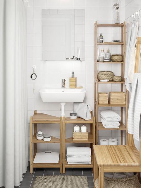 6 ideas de almacenamiento para baños pequeños | 6 storage ideas for small bathrooms