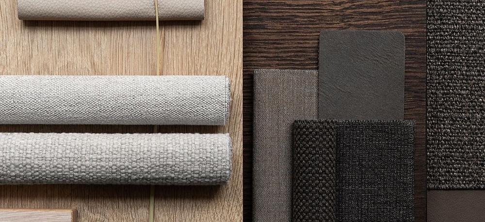 Materiales del estilo Japandi