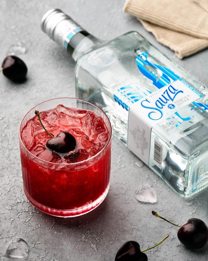 Cherry Tequila Smash
