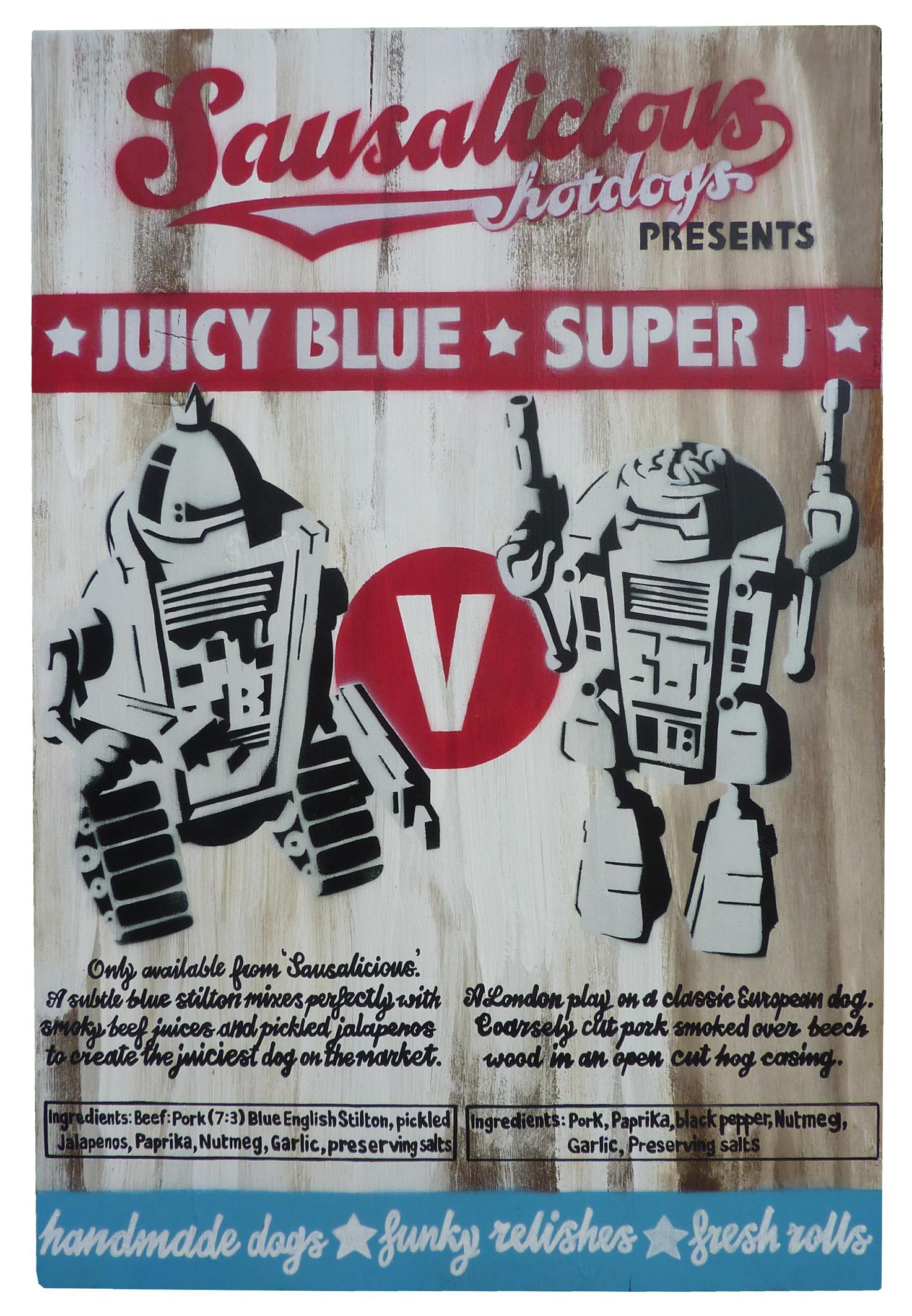 juicy blue and super j 2