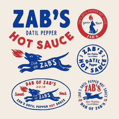 Zab's Datil Pepper Hot sauce