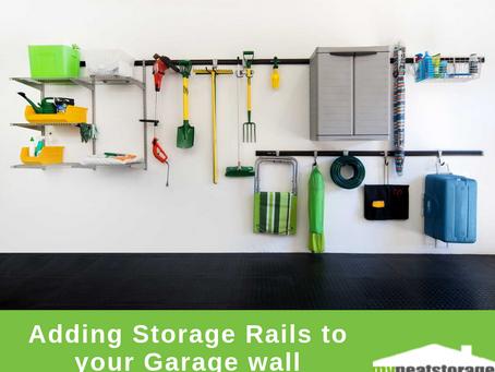 Adding Storage Rails to your Garage wall