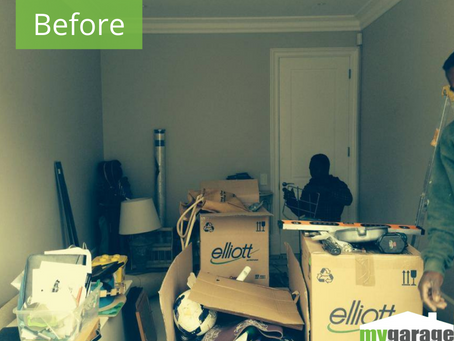 Before and after of a 2014 installation