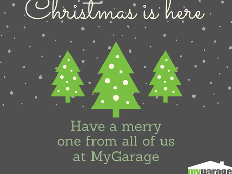 Seasons Greetings from all of us at MyGarage