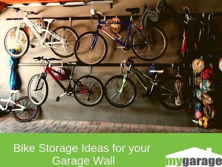 Bike Storage Ideas for your Garage Wall