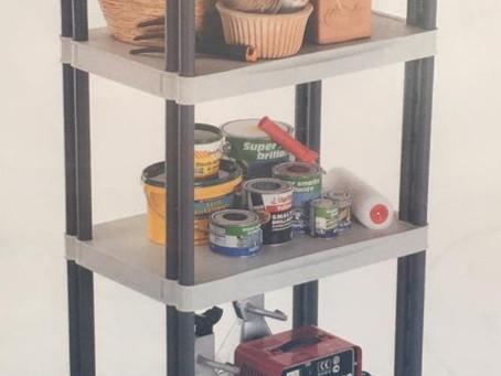 S A L E : Floor standing 5 shelf modular shelves