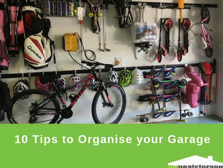 10 Tips to Organise your Garage